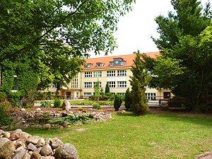 Ansicht Schulgebäude