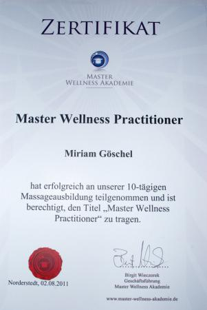 Master Wellnes Practitioner
