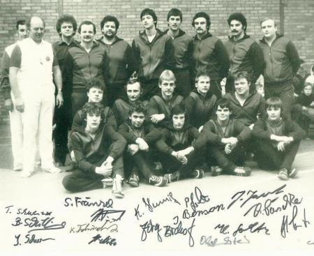 DDR-Oberliga-Meister im klassischen Ringkampf 1986