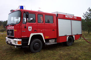 Leihfahrzeug TLF 16/25