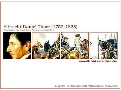 Der Albrecht Daniel Thaer Bildschirmschoner