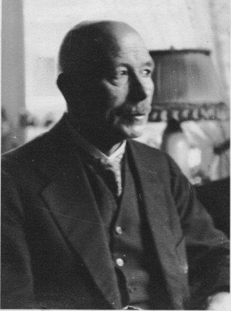 Der Architekt Ernst Rang