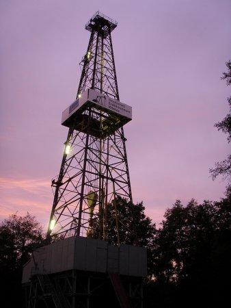 Beleuchteter Turm 70