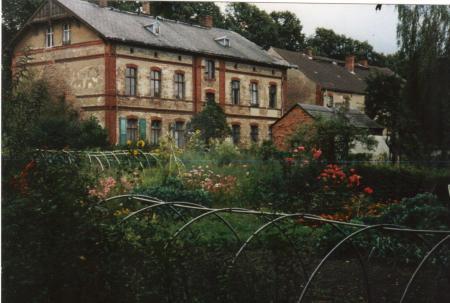 Dorfgebäude um 1950