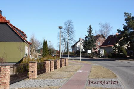 Dorfstraße Baumgarten