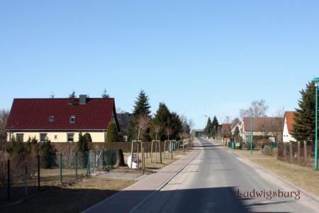 Dorfstraße Ludwigsburg