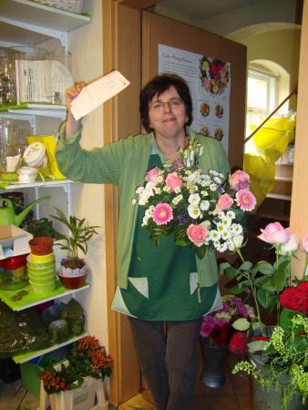 Wir liefern Blumen mit Frischegarantie