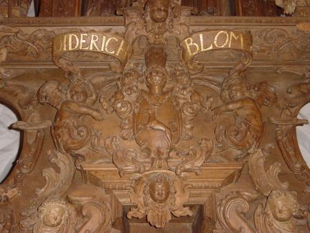 Diedrich BLome, Stifter des Altars von 1653