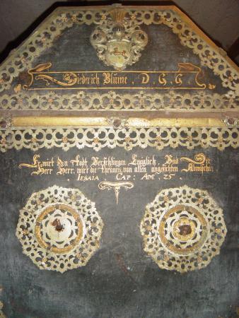 Diedirch Blome, Stifter des Altars