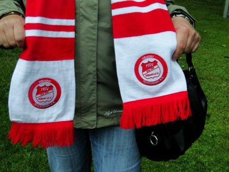 Der HSV Fanschal in Balkenoptik