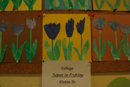 Tulpencollage Kl.1
