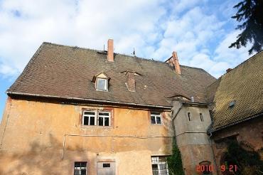 Dach Abthaus außen