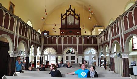Innenraum der Kirche Großkühnau