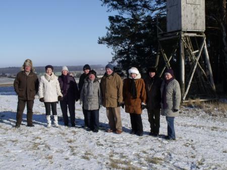 Wanderung zu den Judentannen am 6.2.2012