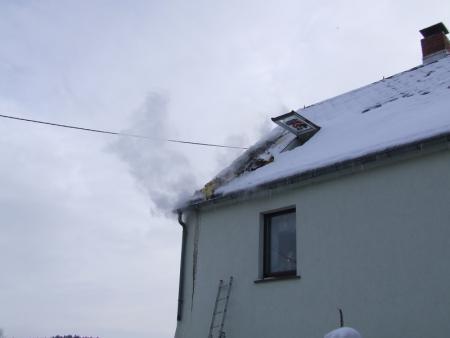 Schwehlbrand unter der Dachhaut