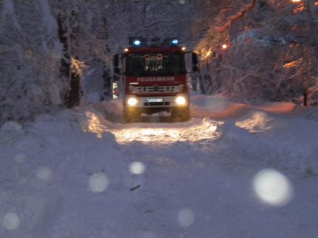 Einsatz Baumsperre 24.12.2010