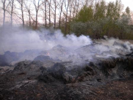 Aufflammen Osterfeuer 2011