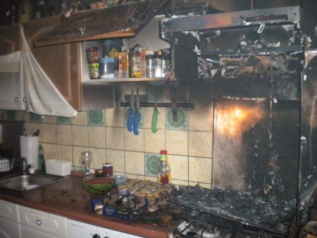 Küchenbrand 16.8.13