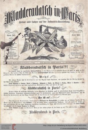 Digitales Archiv der Bibliothek der Universität Heidelberg