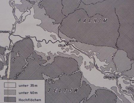 Naturräumliche Gliederung des Berliner Raumes