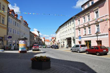 Innenstadt von Bad  Freienwalde