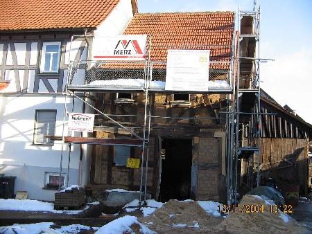 Restaurierung 13.11.2004