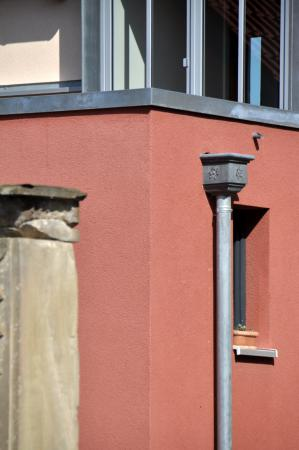 Einfamilienwohnhaus D, Grettstadt - Detail Zwischenbau 01