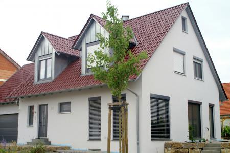 Einfamilienwohnhaus M, Grettstadt - Straßenansicht