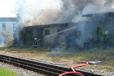 Lagerhallenbrand Lauterbach