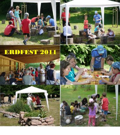 Collage Erdfest 2011