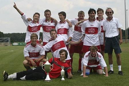 Erfolg der Fußballmanschaft des Johanneums