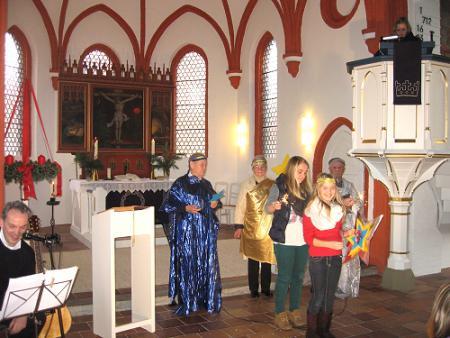Auftakt in der Kirche