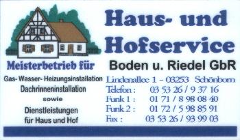 Haus- und Hofservice