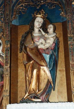 Maria , Figur vom Hochalter, Nürnberg um 1520