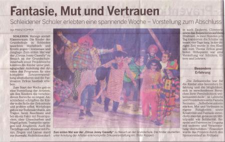 Kölnische Rundschau Zirkus