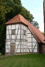 Turm Fachwerkkirche