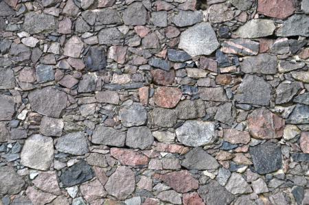 Feldsteinmauerwerk in Reichenberg