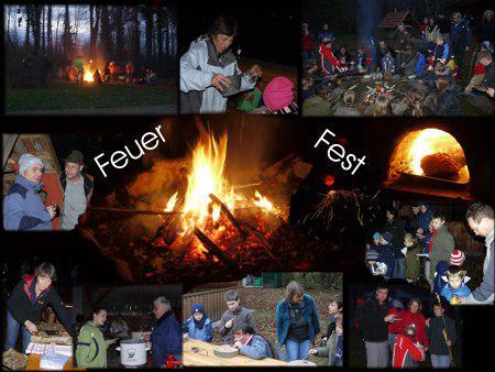 Collage Feuerfest 2010