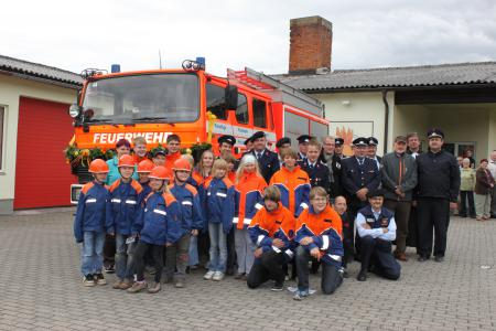 Neues Feuerlöschfahrzeug FFw Helmershausen