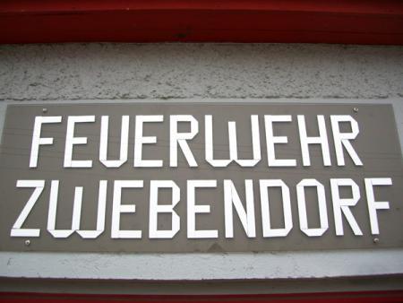 Die Feuerwehr Zwebendorf