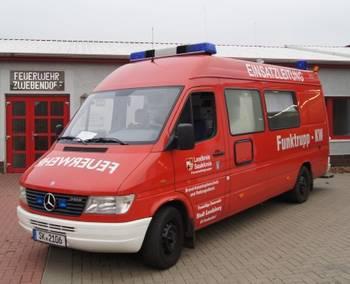 Funktruppwagen der FF Zwebendorf