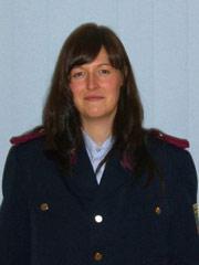 Stadtjugendfeuerwehrwartin Maria Kleppel