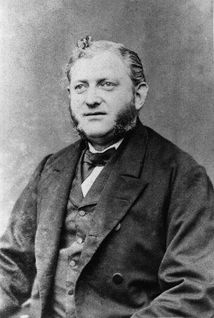 Kaufmann Albert Friedrich Gustav Fischer, geb. 1834, gest, 1893