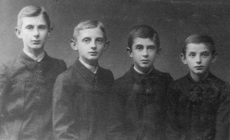 Johannes, Albert, Hartwig und Ulrich Fischer