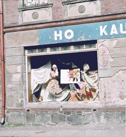 Schaufenster des HO Kaufhauses Markt 2, 1963 (2)