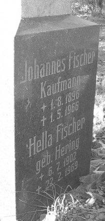 Grabstein Johannes Fischer