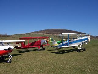 Flugplatz am Dolmar (739 m)