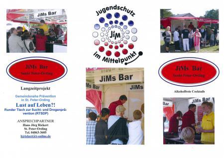 Flyer JiMs Bar Seite 1