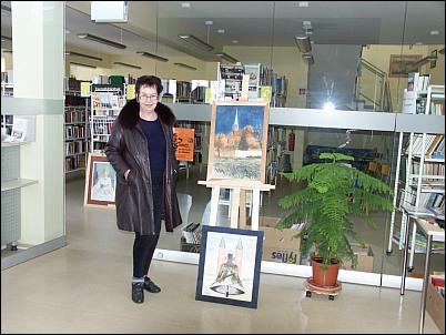 Frau Winkelmann zu Besuch im Bürgerhaus Jerichow