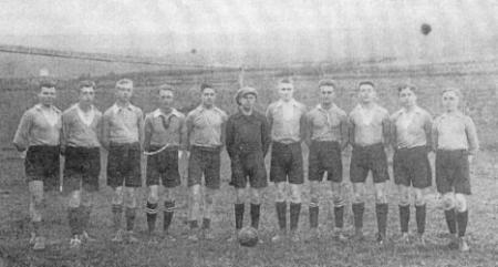 Fußballmannschaft 1920
